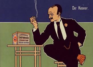 Zigaretten aus der Fabrik Laferme Dresden - Werbung 1897