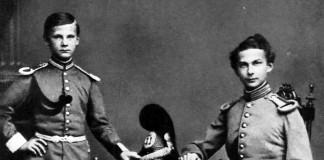 Kronprinz Ludwig und Prinz Otto, 1861, Foto: Max Stuffler