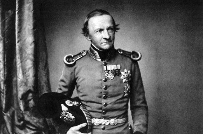 Ludwig I., König von Bayern bis 1848, Fotografie von Hanfstaengl, etwa1860