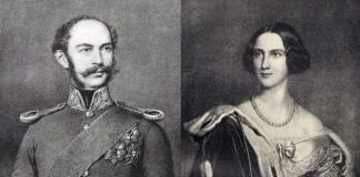 Die Eltern von Ludwig II.: Kronprinz Maximilian II. von Bayern und Prinzessin Marie von Preußen