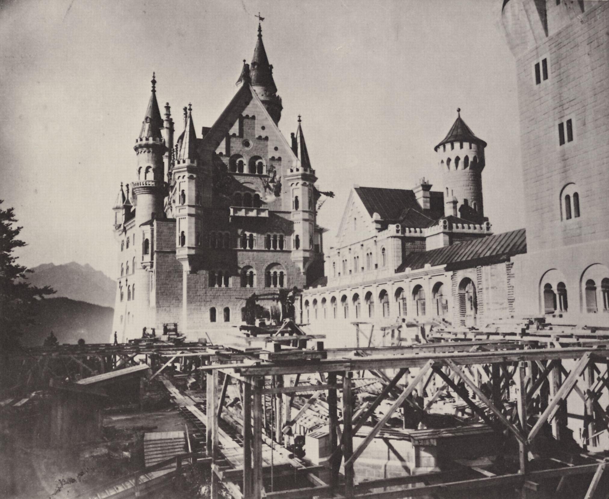 Unvollendete Teile Von Schloss Neuschwanstein Konig Ludwig Ii Schloss Neuschwanstein