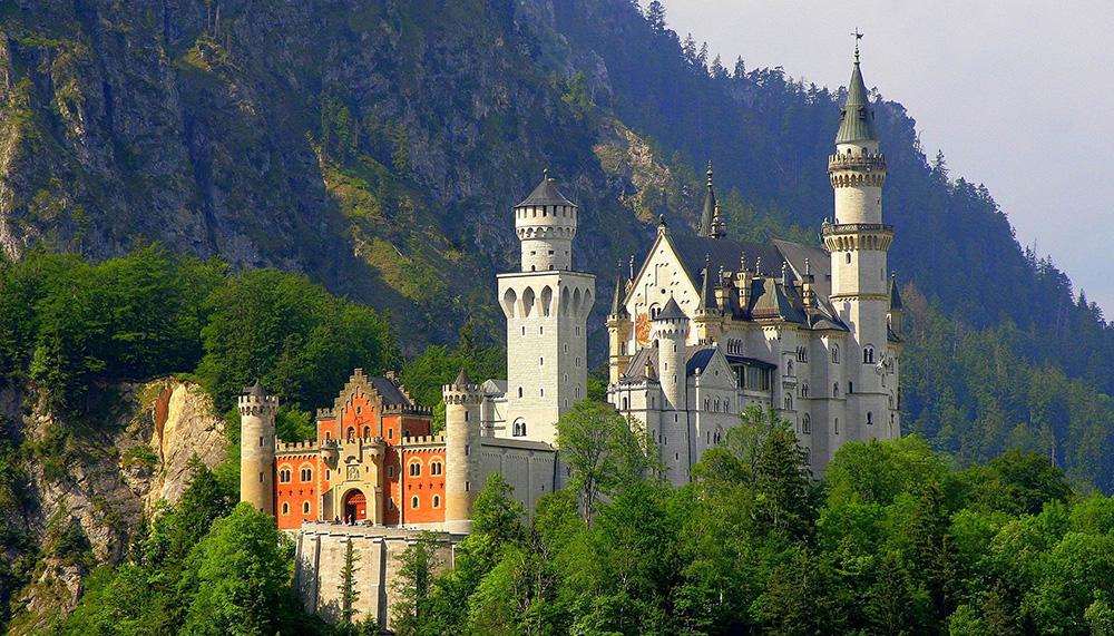 Schloss Neuschwanstein - Foto: Cezary Piwowarski / wikicommons