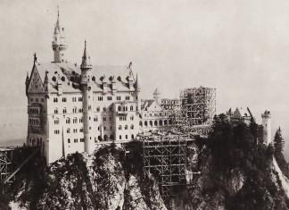 Neuschwanstein als Baustelle, Bild: Bernhard Johannes