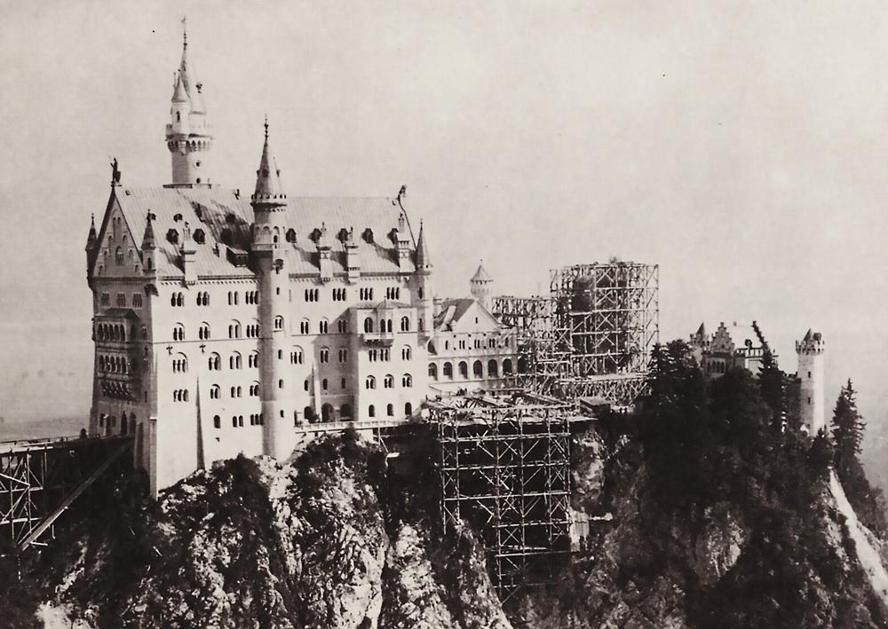 Baugeschichte Von Schloss Neuschwanstein In Zahlen Konig Ludwig Ii Schloss Neuschwanstein