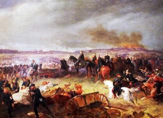 Schlacht bei Königsgrätz – Gemälde von Georg Bleibtreu / Quelle: www.h-bruchwitz.de