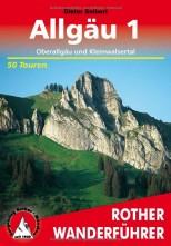 Allgäu, Band 1 - Oberallgäu und Kleinwalsertal - Rother Wanderführer