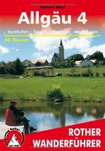 Allgäu, Band 4: Sonthofen, Füssen, Kempten, Kaufbeuren - Rother Wanderführer