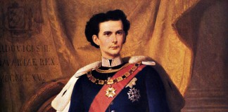 König Ludwig II. von Bayern, Gemälde von Ferdinand von Piloty, 1865