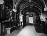 Korridor im 4. Obergeschoss Neuschwanstein Königliche Wohnung