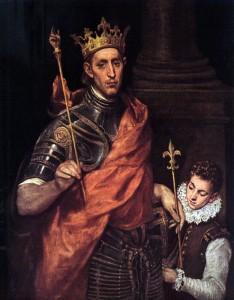 Ludwig IX. von Frankreich, Gemälde von El Greco