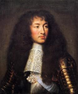 Ludwig XIV. von Frankreich, Gemälde von Charles Le Brun, 1661
