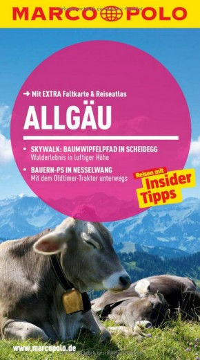 MARCO POLO Reiseführer Allgäu
