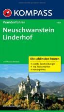 Neuschwanstein - Linderhof: Wanderführer mit Tourenkarten und Höhenprofilen