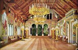 Schloss Neuschwanstein Sängersaal - Kolorierte Fotografie