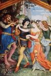 Bei Herzog Friedrich dem Streitbaren von Oesterreich spielt Tannhäuser den Frauen einen Reigen.