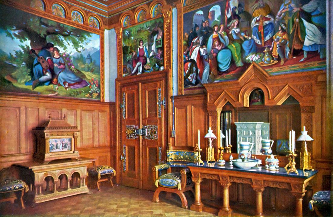 Ankleidezimmer – Schloss Neuschwanstein | König Ludwig II ...