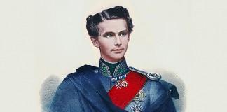 Portrait Ludwig II. von Bayern als junger Regent