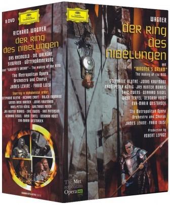 Richard Wagner - Der Ring des Nibelungen, 8 DVDs, Metropolitan Opera
