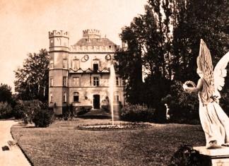 Schloss Berg um 1886 – Nach seiner Entmündigung brachte man König Ludwig II. von Bayern nach Schloss Berg, wo man ihn behandeln wollte. Fotografie: Joseph Albert