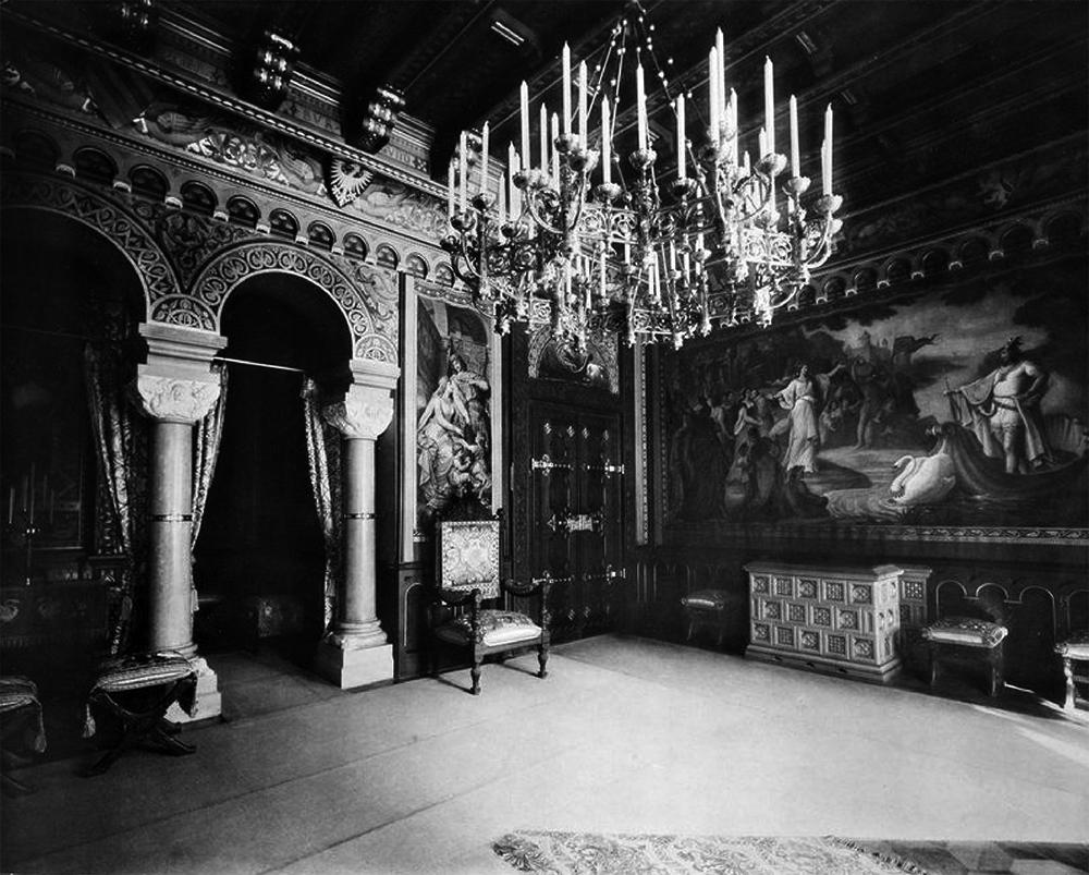 Wohnzimmer Von Ludwig II. – Schloss Neuschwanstein