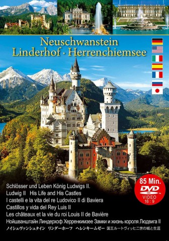 Film: Neuschwanstein Linderhof Herrenchiemsee - Schlösser und Leben König Ludwigs II. - von Klaus Kienberger